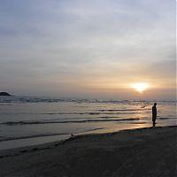 Океан перед закатом