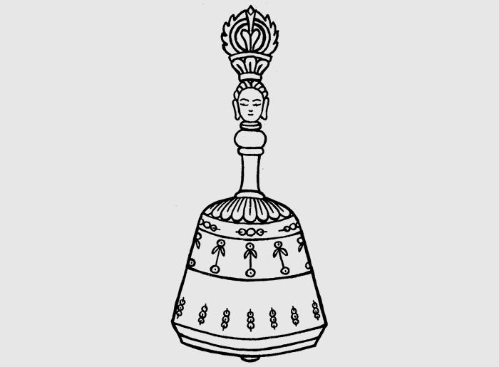 Колокольчик (санскр.: ghanta; таб.: dril bu)