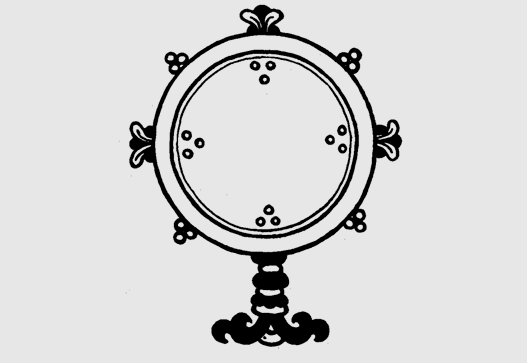 Зеркало (санскр.: adarca, тиб.: me long)