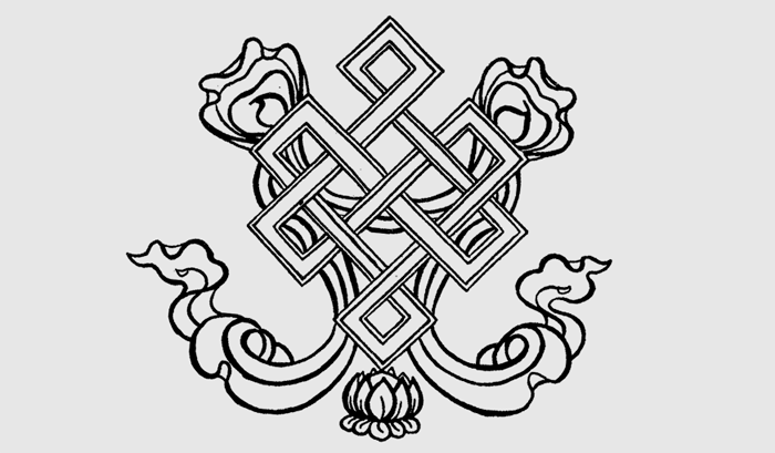 dharma library  endless knot