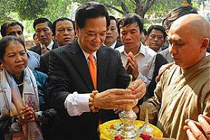 Премьер Министр Вьетнама в Бодх-Гае — Буддизм связал две страны