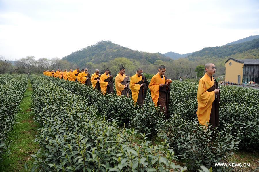 Объединение Чань с сельскохозяйственной работой