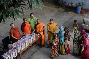 Дхармараджика, буддийский монастырь в Бангладеш