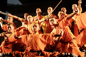 Monks from China's Shaolin temple