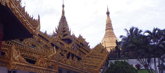 Шведагон - визитная карточка Янгона