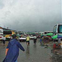 Автовокзал в Янгоне