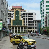 Ж/д вокзал в Мандалае
