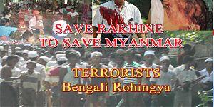 Muslim Rohingya Terror in Myanmar