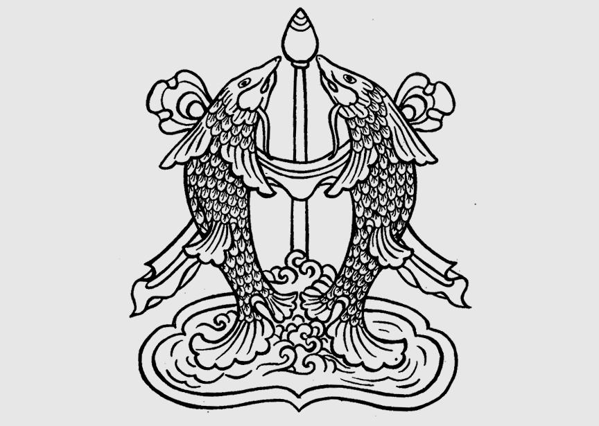 Золотые рыбы - буддийский символ