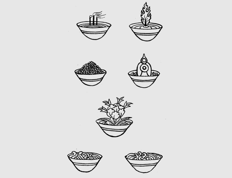 Набор «восьми подношений»