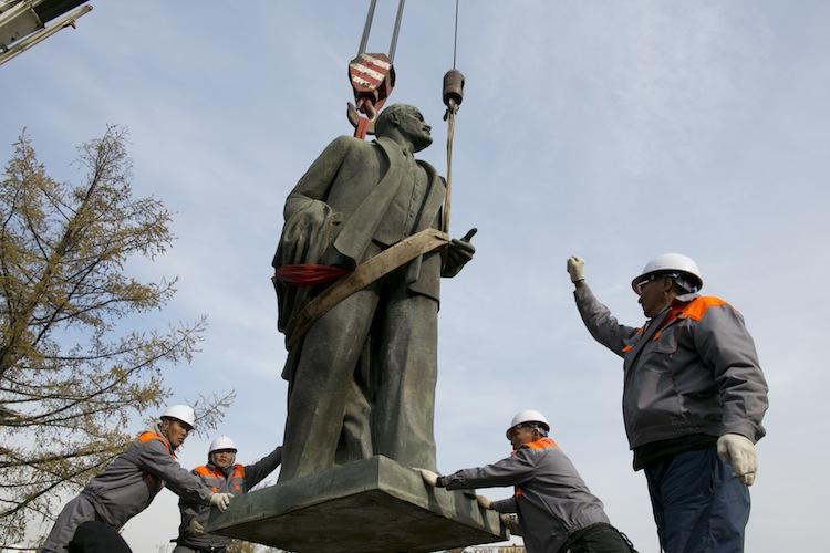 В столице Монголии снесли последний памятник Ленину