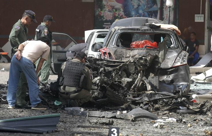 27 человек ранены на юге Таиланда в результате серии взрывов