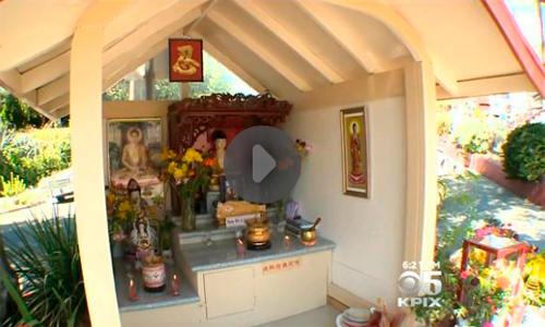 В районе Окленда уровень преступности снизился после постройки буддийской часовни