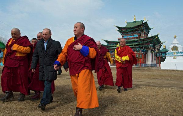 В России насчитывается около миллиона буддистов