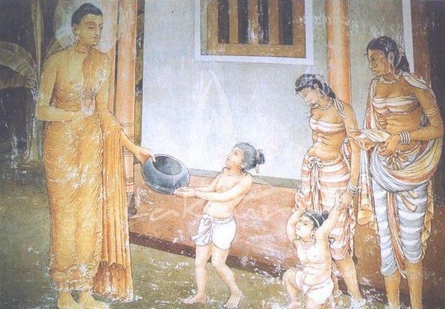 Знаменитые женщины Раджагахи. Дхаммадинна
