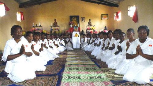 Буддизм в Африке. Конго