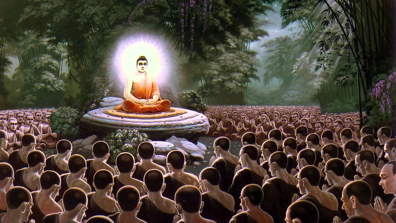 Буддийский праздник Магха Пуджа, День Сангхи