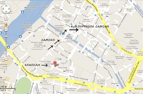 Где остановиться в Бангкоке