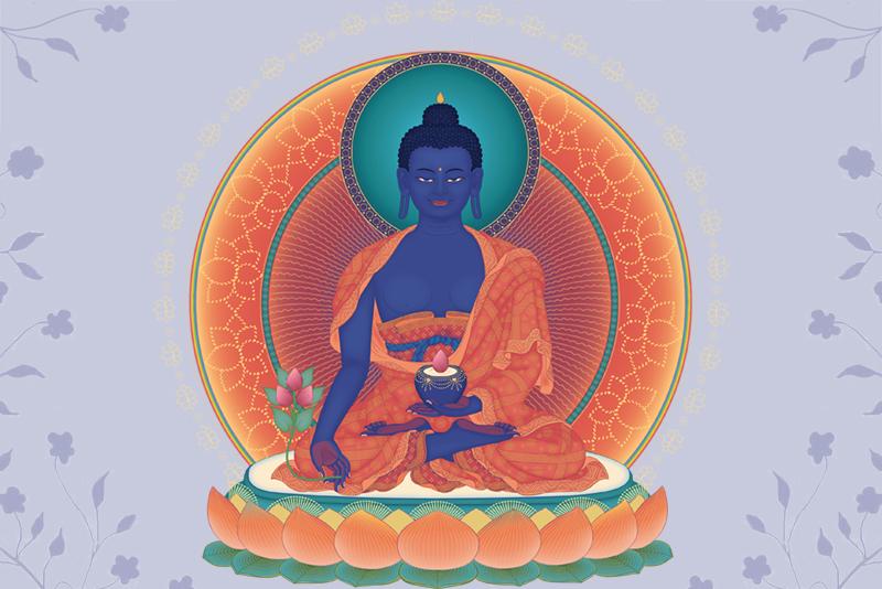Будда Медицины Изображение